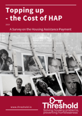 Topping up_ the cost of HAP_front cover